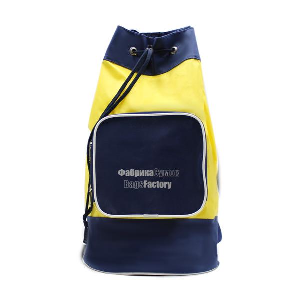рюкзак рекламный простой дешёвый промо спереди