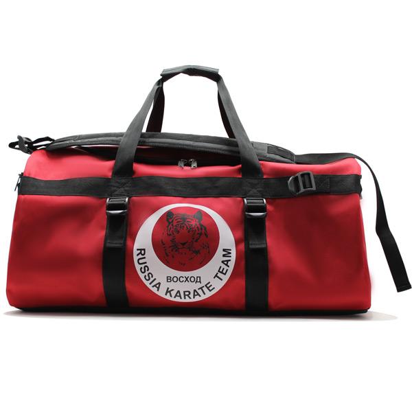сумка спортивная команда карате клуб фирменный стиль спереди