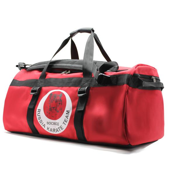 сумка спортивная команда карате клуб фирменный стиль сбоку