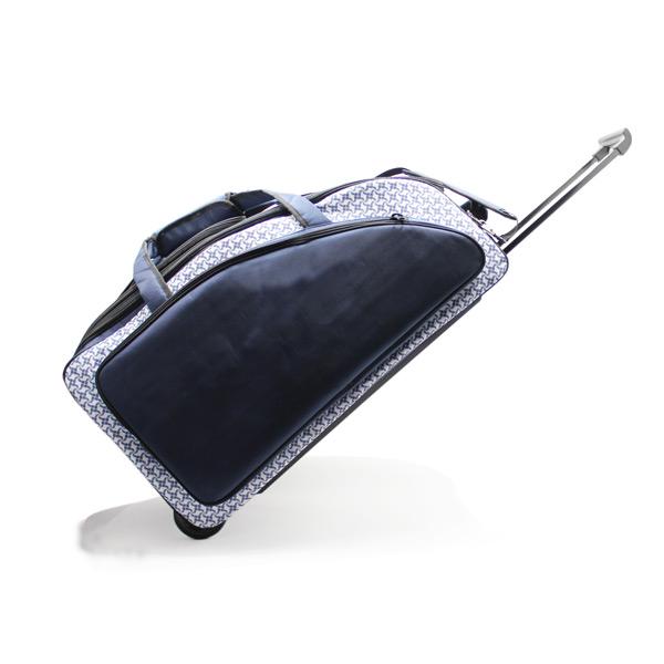 сумка колёсная спортивная дорожная багаж большая синяя тележка