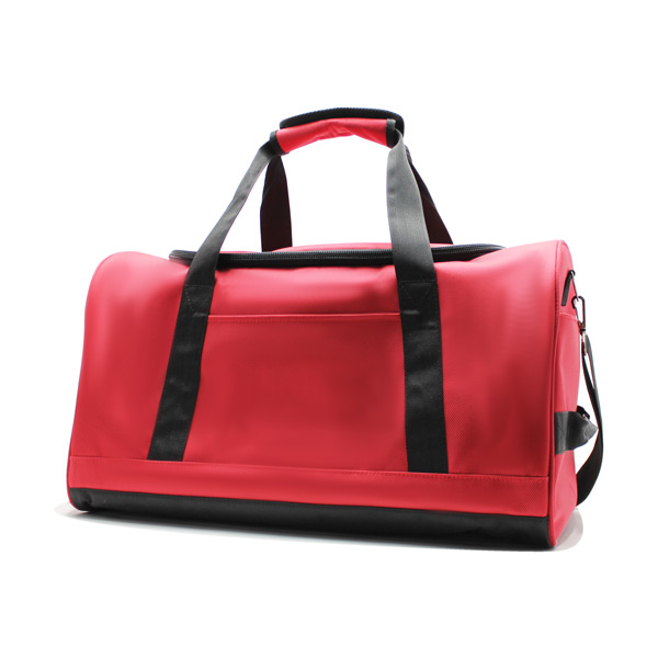 сумка ручная кладь самолёт компактная для путешествий красная сбоку