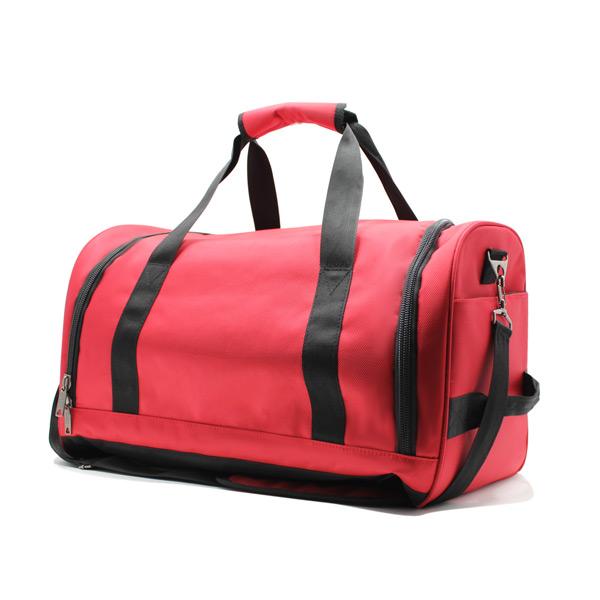 сумка ручная кладь самолёт компактная для путешествий красная отделение