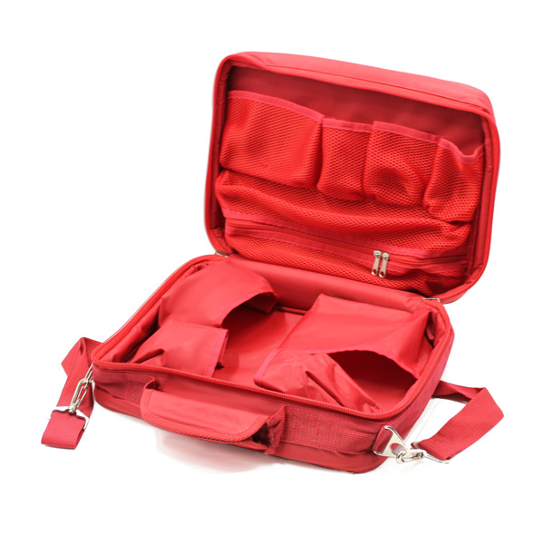 медицинская сумка для скорой помощи красная карманы