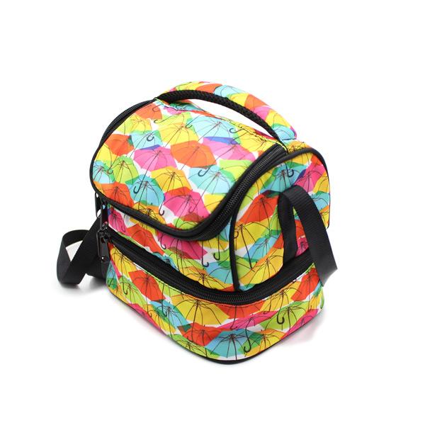 сумка для еды и обеда lunch bag сверху