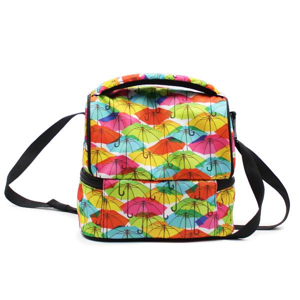 сумка для еды и обеда lunch bag сзади
