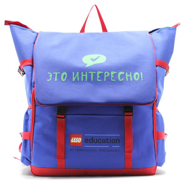 большой рюкзак для переноски оборудования с логотипом спереди