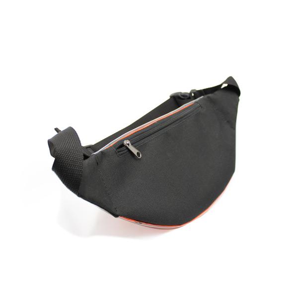 сумка поясная прозрачная из плёнки карман