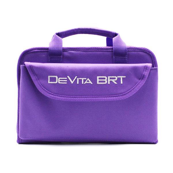 сумка для медицинского прибора с раскладкой и карманами спереди