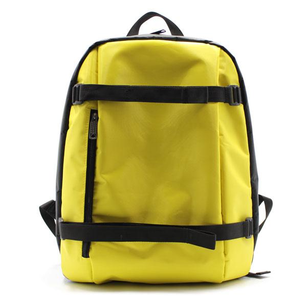 рюкзак городский жёлтый для ноутбука спереди