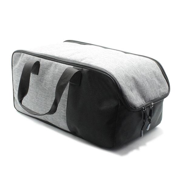 сумка для путешествий ручная кладь серая спереди