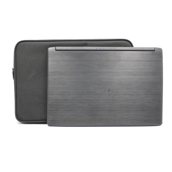 папка планшет для ноутбука стандартная чёрная для компьютера спереди