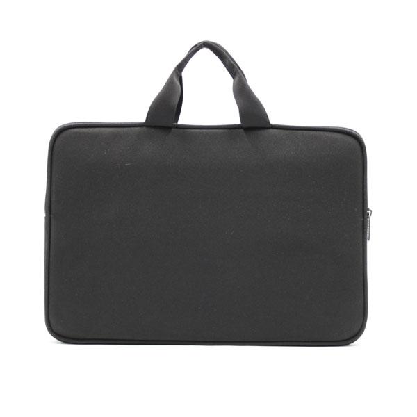 папка планшет для ноутбука стандартная чёрная с ручками спереди