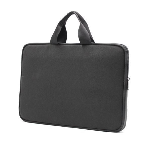 папка планшет для ноутбука стандартная чёрная с ручками сбоку