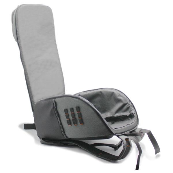 рюкзак для тахеометра серый большой внутри