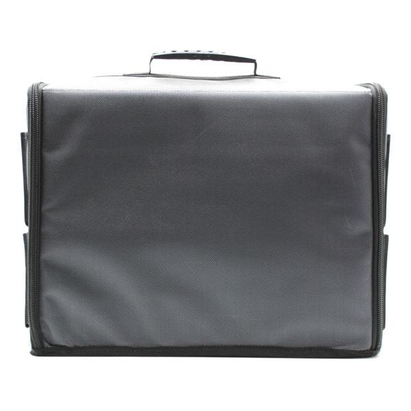 сумка чехол для хранения и транспортировки оборудования серый сзади