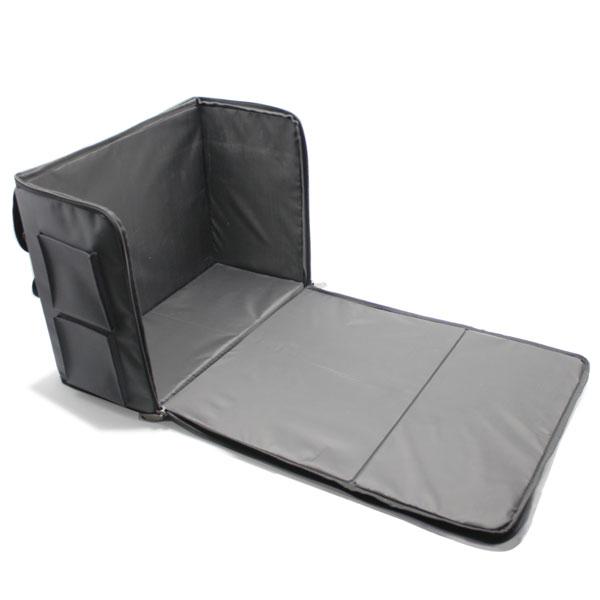 сумка чехол для хранения и транспортировки оборудования серый клапан