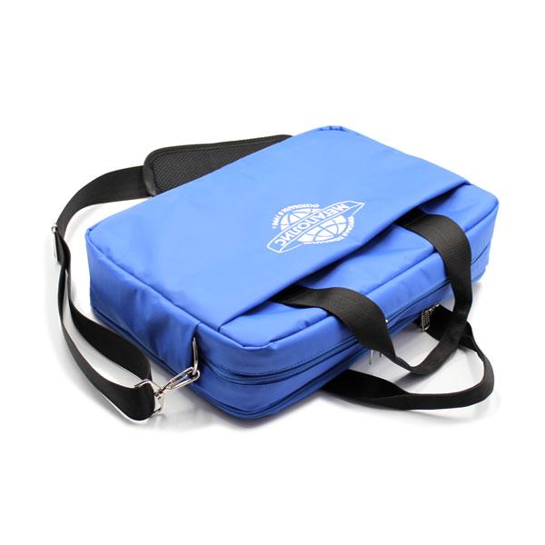 сумка портфель деловой для ноутбука и бумаг сверху