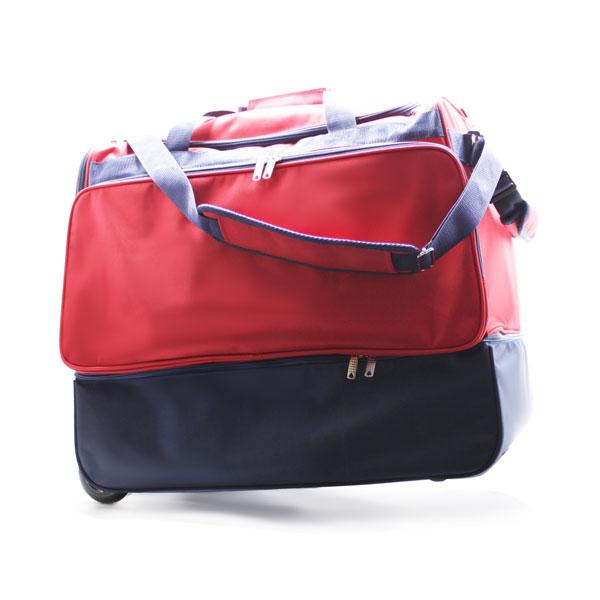 сумка колесная отделение для обуви спортивная Росссия с ремнём