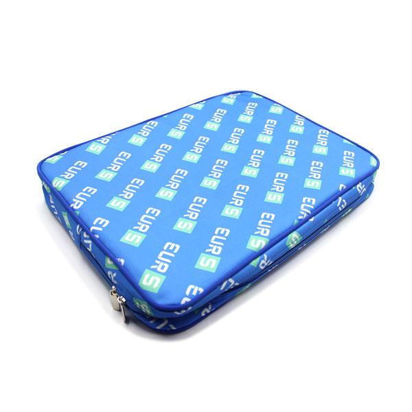 папка планшет большая с логотипом синяя сверху