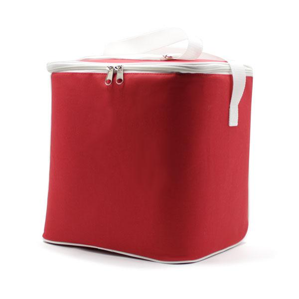 сумка холодильник стандартная красная с ремнём