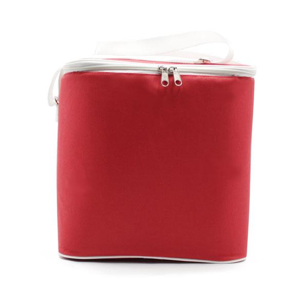 сумка холодильник стандартная красная спереди