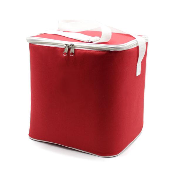 сумка холодильник стандартная красная сверху