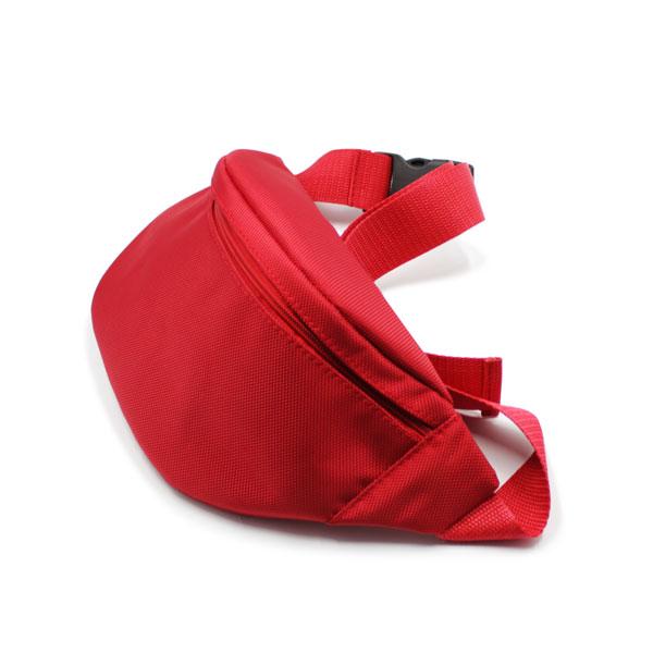 сумка на пояс красная премиум яркая сверху