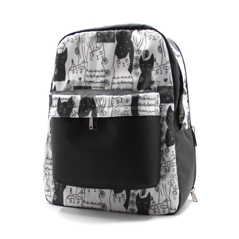 Рюкзак городской R-32 с кошечками